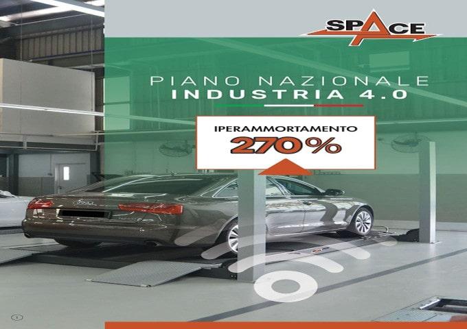 iperammortamento sicilia 270% officina linea revisione agenzia space attrezzature per gommisti officine meccaniche meccatroniche gommisti sicilia e calabria